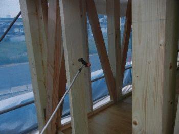 害虫(白蟻)に強い家なら、ホウ酸施工ができる呉市のオオサワ創研にお任せください!!3
