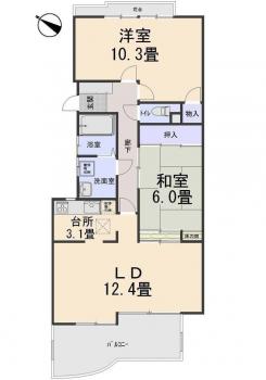 【中古マンション】呉市焼山松ヶ丘1丁目