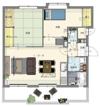 オオサワ創研不動産部お買い得情報!!呉市広地区の市街地に近く、便利で住みやすいマンションをご紹介いたします。